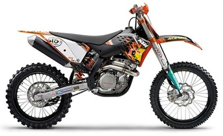 Ktm450sxfdirtbike2009