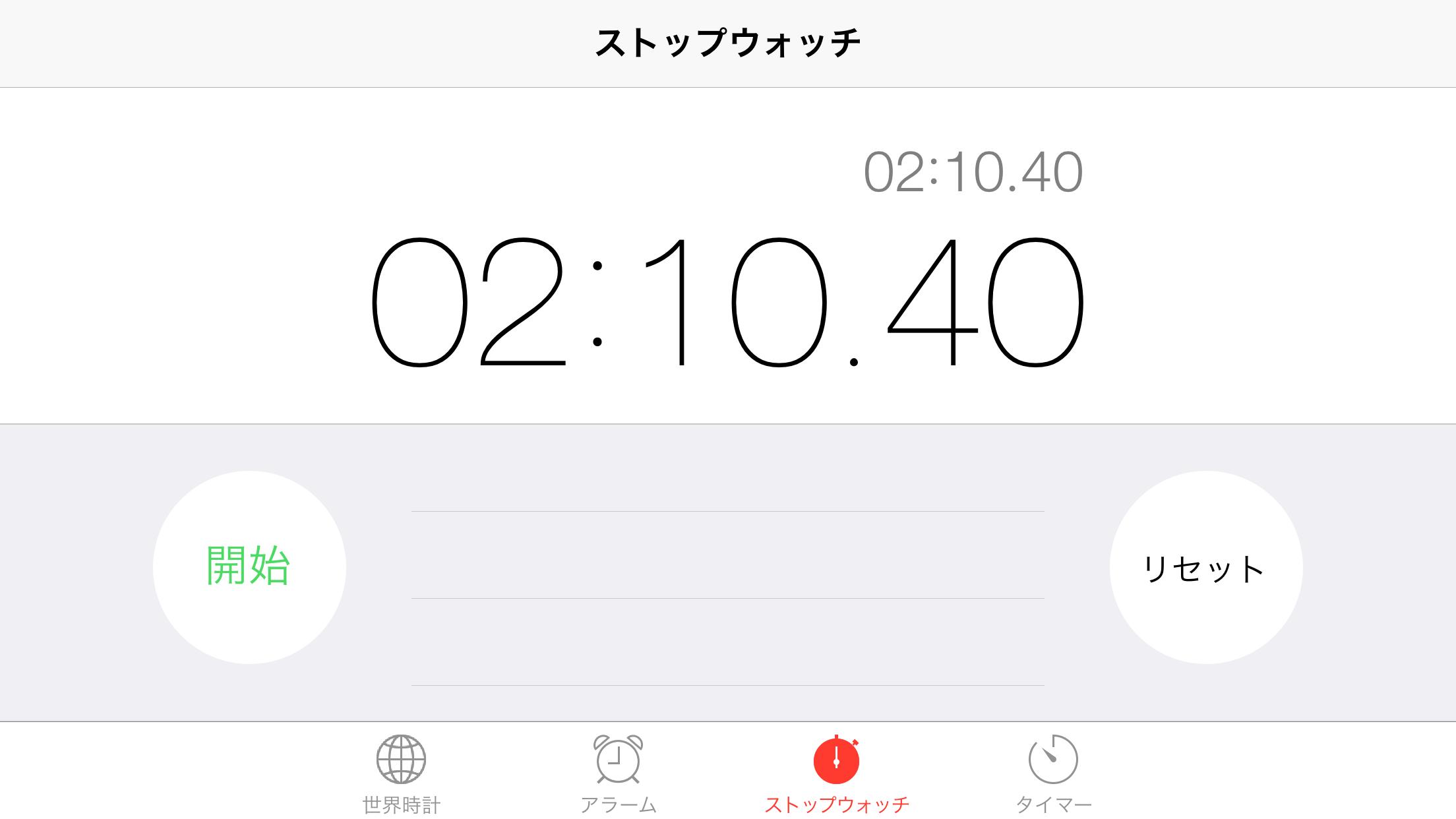 最速タイム。